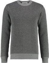 Purewhite Knitted Crewneck Grey
