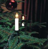 Konstsmid Kerstboomverlichting - 16 kaarsen - 1050 cm - rechte lijn - 230V - Binnen - warmwit