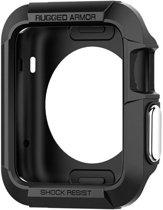 Spigen Rugged Armor Apple Watch (38mm) Case - SGP11485 - Black