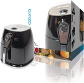 Hot Air Fryer 1400 W 3 L Zwart/Zilver