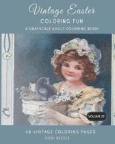 Vintage Easter Coloring Fun