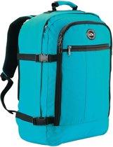 CabinMax Metz – Handbagage - Rugzak 44l– Schooltas - 55x40x20cm – Lichtgewicht - Blauw (MZ BBE)