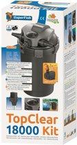 Superfish Topclear kit filltersysteem 18000 -5000l/u - 18 w Uv