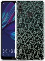Huawei Y7 2019 Hoesje Triangles