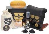 Baard Verzorging set van Baørd - Baardset - Geschenk - Grooming Kit - Voor Mannen - Barbershop set - Baard Schort - Baard contoeren - Baardgroei - Baardstyling - Professioneel - Kam - Borstel - Schaar - Olie - Balsem - Shampoo