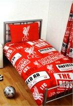 Liverpool Dekbedovertrek - Eenpersoons - 135x200 cm