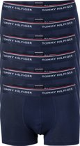 Actie 6-pack: Tommy Hilfiger boxershorts - blauw -  Maat L