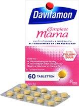 Davitamon Mama Compleet - multivitamine - zwangerschap - 60 tabletten
