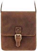 Visconti Hunter leather Roca Messenger bag - 18722t