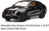 GT Spirit Brabus GLE 850 Zwart 1/18