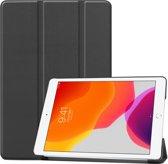 iPad 10.2 inch (2019) hoes - Tri-Fold Book Case - Zwart