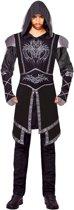 Zwart sluipmoordenaar kostuum voor volwassenen - Volwassenen kostuums