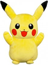 Pokemon Pluche Knuffel 40 cm - Pikachu. Bekend van Pokemon Detective Movie