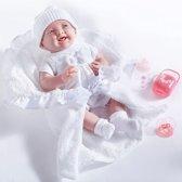 Berenguer babypop 39 cm softbody met speen en deken