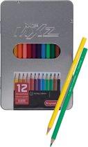 mXz blik 12 kleurpotloden