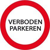 """Kunststof verbodsbord """"Verboden Parkeren"""""""