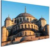 Moskee Midden-Oosten Aluminium 90x60 cm - Foto print op Aluminium (metaal wanddecoratie)