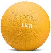 Medicine ball - Medicijnbal - 1 kilogram - geel