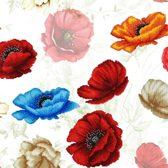 Mini Art Crafts, Poppy Flower, 40x40 cm (nivo: expert)