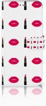 Samsung Galaxy A50 Telefoon Hoesje Lipstick Kiss