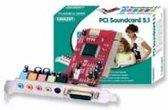 Eminent PCI Soundcard 5.1 Intern 5.1kanalen PCI