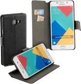 HC zwart bookcase voor de Samsung Galaxy A5 (2016) wallet cover