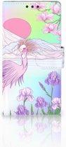Sony Xperia Z1 Bookcase Bird