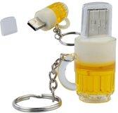 Bierglas - USB-stick - 8 GB