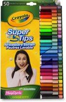 Crayola 50 Viltstiften superpunt MeisjeDjamila
