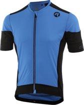 Rogelli Rise Fietsshirt - Heren - Korte mouwen - Maat XL - Blauw/Zwart