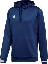 adidas Team 19 Hoody - Sweaters  - blauw donker - M