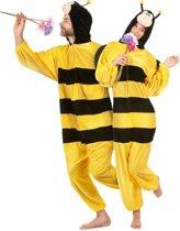 Pluche Honingbij - Kostuum - Maat M-L