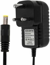 South Africa Plug AC 100-240V to DC 6V 2A Power Adapter  Tips: 5.5 x 2.1mm  Cable Length: about 1.2m(Black)