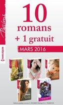10 romans inédits Passions + 1 gratuit (n°585 à 589 - Mars 2016)