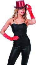 Zwarte Topje Ms Bling Vrouw   Maat 46   Carnaval kostuum   Verkleedkleding