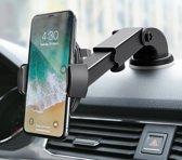 Universele smartphone autohouder - zwart