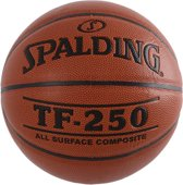 Spalding TF-250 In/Outdoor Basketbal Junior - Oranje