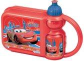 Disney Cars Lunchset Kunststof 3 Delig Rood