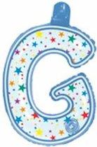 opblaasbare letter G multi color