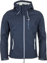 Superdry Hooded Windtrekker Softshell  Outdoorjas - Maat XL  - Mannen - blauw