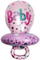Roze Speen Ballon - Kraamcadeau – Geboorte versiering – Geboorte ballonnen – Feest versiering – Baby Shower – Geboorte meisje