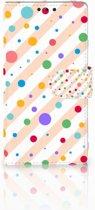 Sony Xperia Z1 Bookcase Design Dots