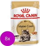 Royal Canin Fbn Maine Coon Adult Pouch - Kattenvoer - 8 x 12x85 g
