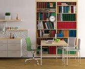 Bibliotheek  - Fotobehang 183 x 254 cm