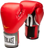 Velcro Pro Style Training Gloves | 14 ounce Rood