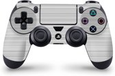 Playstation 4 Controller Skin Brushed Wit- PS4 Controller Sticker