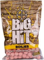 Crafty Catcher Big Hit Raspberry & Black Pepper | Boilies | 20mm | 1kg