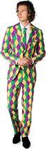 OppoSuits Harleking - Mannen Kostuum - Gekleurd - Carnaval - Maat 50