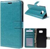 Cyclone wallet case hoesje Samsung Galaxy S9 blauw