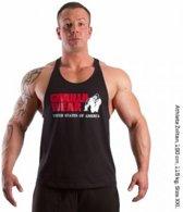 Gorilla Wear Classic - Fitnesstop - Heren - Maat XL - Zwart